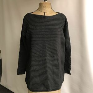 Gap, 100% Cotton Oversized Sweater w 3/4 Selves